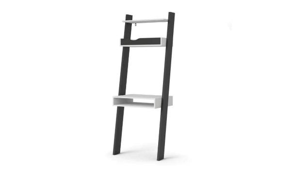 Tvilum Delta skrivebord – flot og minimalistisk skrivebord, der ligner en smal reol