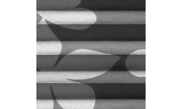 Plissegardiner up and down California 953 – flotte plissegardiner med blomstret mønster