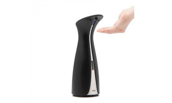 Otto sæbepumpe med sensor i sort – Undgå bakterier
