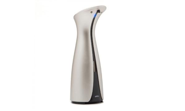 Otto sæbepumpe med sensor i sølv – Altid rene hænder