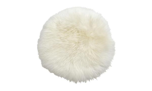 Ilva Sheep Siddehynde – hvidt lammeskind til dine stole