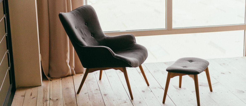 Otium stol   6 komfortable hvilestole med skammel