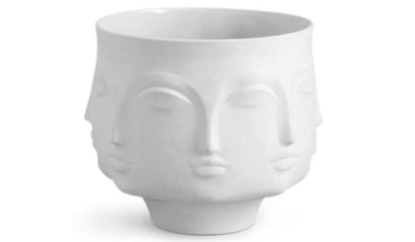 Dora Maar Bowl i hvidt porcelæn – et kunststykke