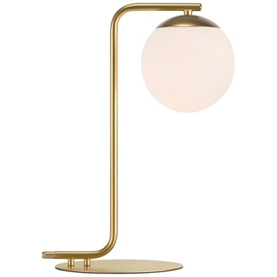 Messing lampe | 6 skønne lamper i messing til stuen eller