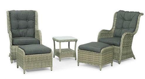 Hampton loungesæt – komfort og afslapning i højsædet