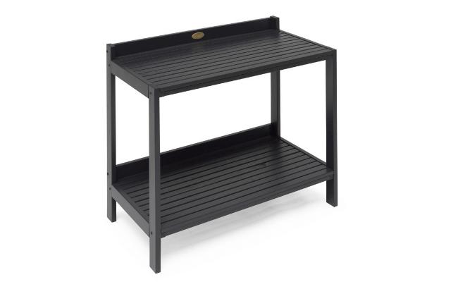 Udendørs plantebord – Mørkegråt