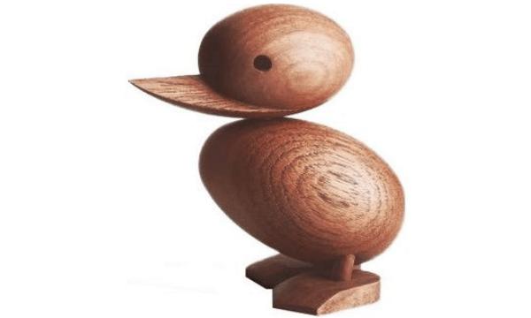Architectmade Duckling i teaktræ