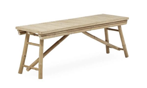 Halong Havebænk – Orientalsk bambusbænk