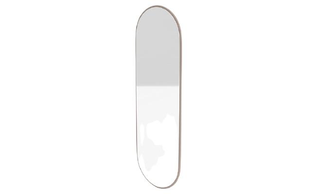 FIGURE ovalt spejl – stort spejl med rene linjer