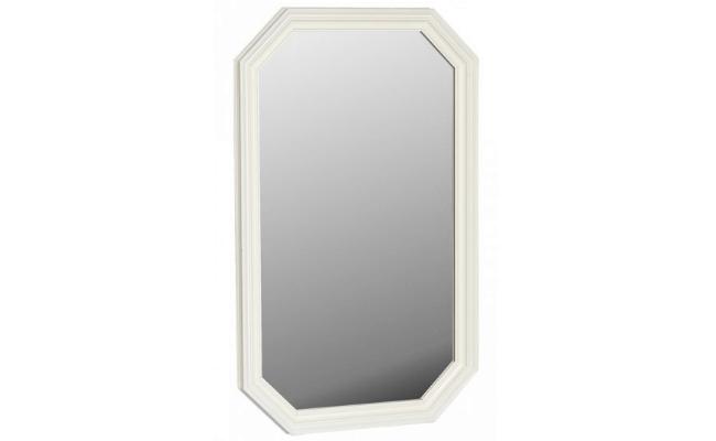 Torino Spejl – Hvid