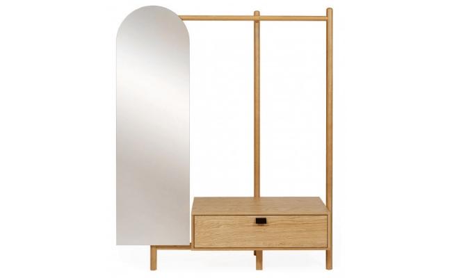 Woodman Tripod Entrémøbel m. spejl