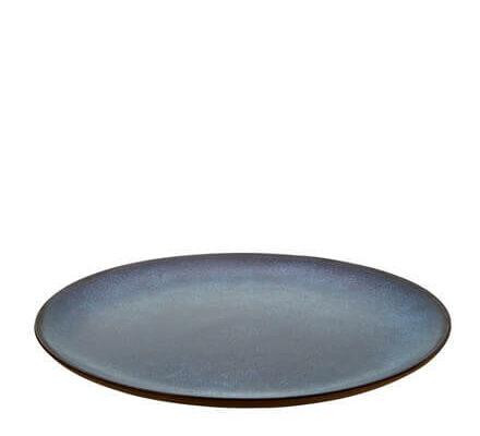 AIDA RAW frokost tallerken O23 cm midnight blue (1)
