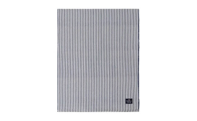 Lexington Bordløber Striped Recycled Cotton Rips Runner