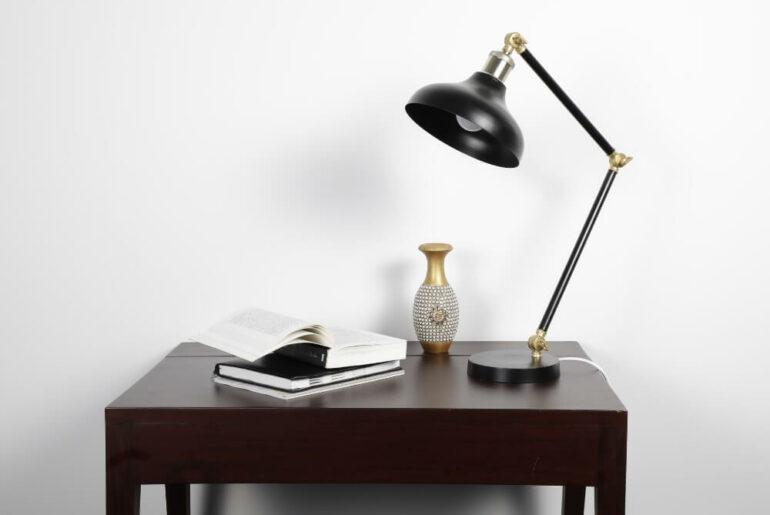 skrivebordslamp