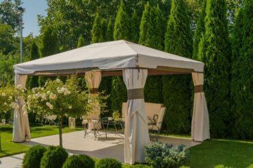 De mest charmerende pavilloner til din have