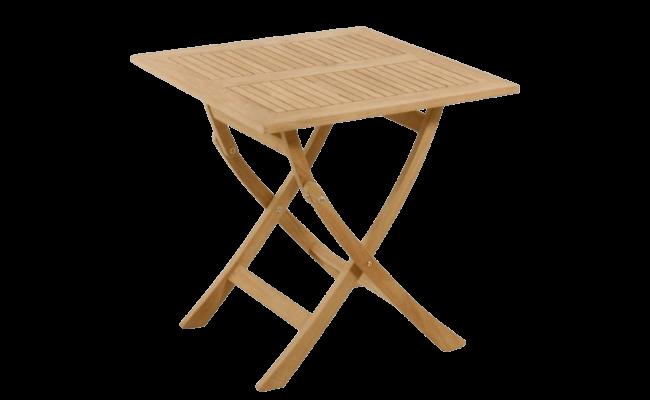 Mandalay Leeds Folding Table i teak