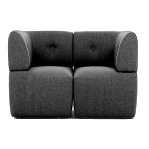 Sofa.dk HELSINKI 2 personers sofa